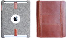 PaletteCase - A distinctive felt and leather case for the new iPad and iPad2 $130