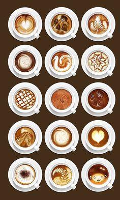 latte art.