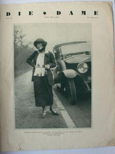 Zeitschrift-Die-Dame-Nr-12-Ende-Maerz-1922