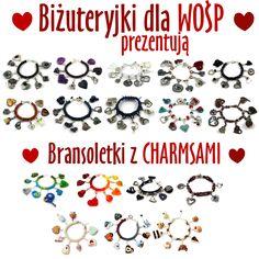 17 naszych bransoletek :)