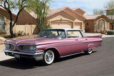 "1959 Pontiac Bonneville ""Flat-Top""."
