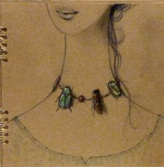 Collana-Insetti (necklace-insects) by Barbara Baldi.