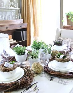 You Know Your Place Setting is Southern When�. (And a Giveaway)