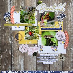 Ideas for Scrapbook Page Storytelling with an English Countryside Style | Devra Hunt | Get It Scrapped