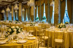 Wedding at the Drake Hotel Gold Coast Room, Chicago IL