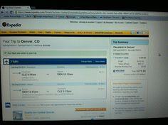 Flight to Denver