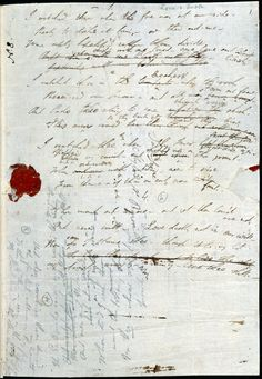 George Gordon Byron, commonly known as Lord Byron was born on the 22 January 1788. He is regarded as one of the greatest British poets and a leading figure of the Romantic movement.    Image: Autograph draft of Byron's last poem 'Love and Death', 1824.