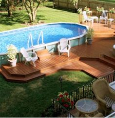 Have you opened your above ground pool yet?  Read this blog!