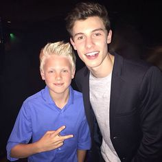Met Shawn Mendes at the IHeart Awards