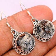 Astrophyllite 925 Sterling Silver Earrings Jewelry ASTE117 - JJDesignerJewelry