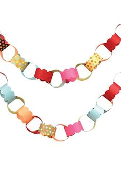 DOTS PAPER CHAIN