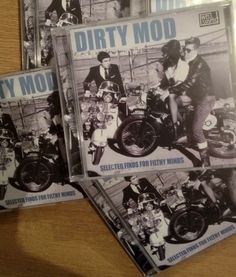 Xmas gift idea fig.4. Dirty Mod CDs from Well Suspect Records.