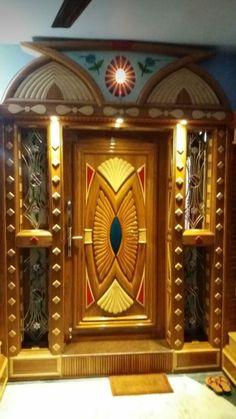 Flush Door Design, Single Door Design, Front Door Design Wood, Wooden Door Design, Main Door Design, Wooden Doors, Door Design Images, Flush Doors, Bed Head