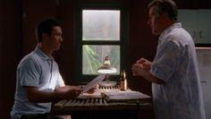 "Burn Notice 3x14 ""Partners in Crime"" - Michael Westen (Jeffrey Donovan) & Sam Axe (Bruce Campbell)"