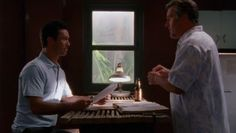 "Burn Notice 3x14 ""Partners in Crime"" - Michael Westen (Jeffrey Donovan) & Sam Axe (Bruce Campbell)"