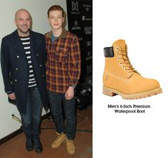 SPOTTED: Cameron Monaghan in yellow boots. #shameless