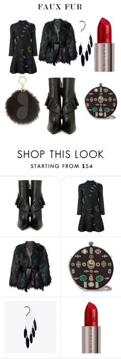 """Untitled #282"" by pia115 ❤ liked on Polyvore featuring J.W. Anderson, Valentino, Balmain, Alexander McQueen, Urban Decay and MICHAEL Michael Kors"