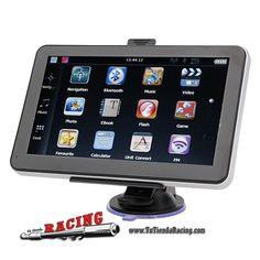 Navegador GPS para Coche con Pantalla de 7 Pulgadas HD Radio FM AV Memoria de 4GB -- 69,99€