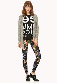 Favorite Floral Leggings   FOREVER21 - 2000066204