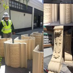 Construction continues at the #IAMLA! We are steps closer to returning the historic Italian Hall to its original splendor! Thanks to a gift from the G.H. Palmer Family Foundation the IAMLA is restoring the masonry on the museum's facade. When the building was constructed in 1908 an ornate cornice appointed with intricate corbels and acanthus panels wrapped around the facade.  The cornice was removed in the 1960's likely to comply with earthquake ordinances. While several of the original…