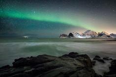 Northern lights in Norway / Lofoten Islands 2017