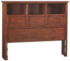 Whittier Wood Mckenzie Bookcase Headboard