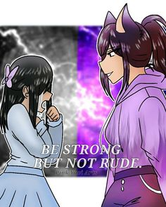 1/2 (young) P.D.H vs (teenagers) W.A.F goodness. They are big :') (if repost, please give credit thx!) #aphmau #garroth #whenangelsfall…