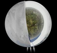 Saturn's moon Enceladus has a huge ocean of liquid water, scientists confirm