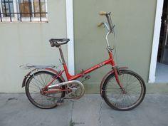 Antigua Bicicleta Plegable Legnano - Rodado 20 - - $ 2.000,00 en MercadoLibre