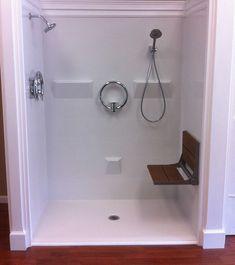 Walk In Showers For Seniors | Walk in Showers Ocala, FL | Walkin Shower, Barrier Free Showers, Roll ...