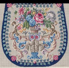 Cross Stitch Rose, Cross Stitch Flowers, Textile Fabrics, Purse Patterns, Plastic Canvas Patterns, Vintage Wool, Pattern Making, Cross Stitching, Needlepoint