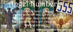 Numerology: Angel Number 555 | #numerology #angelnumbers