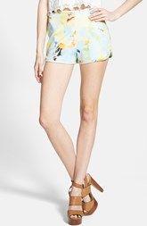 J.O.A. Floral Print Shorts