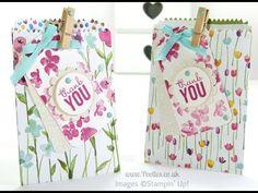Painted Blooms Mini Treat Bag Tip Tutorial | Stampin' Up! UK #1 Demonstrator Sam Donald