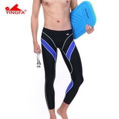 29.95$  Buy now - http://ali2wt.shopchina.info/1/go.php?t=2007278791 - Yingfa water proof,chlorine resistant racing mens long swim pants men's long swimming trunks 29.95$ #buymethat