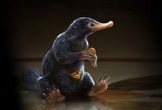 ArtStation - Niffler - Fantastic Beasts, sam rowan