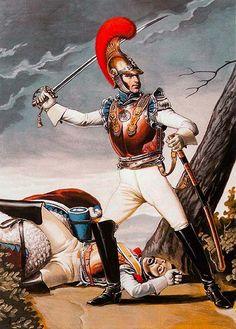 """Carabiniers, 1810-1815"", Sergei Letin"