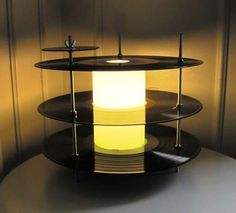 Vinyl Record Lighting - The LP Table Lamp