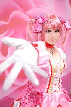 kimpa(kimpa) Madoka Kaname Cosplay Photo - Cure WorldCosplay Epic Cosplay, Cute Cosplay, Cosplay Girls, Cosplay Costumes, Amazing Cosplay, Anime Cosplay, Cosplay Ideas, Sayaka Miki, Cosplay Characters