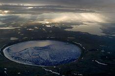 Crater Pingualuit #Canada