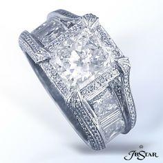 JB STAR PLATINUM DIAMOND RING