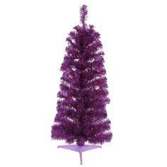 Artificial Christmas Tree - 3 ft. by Gordon Companies, Inc. $57.00. This product may be prohibited inbound shipment to your destination.. Picture may wrongfully represent. Please read title and description thoroughly.. Brand Name: Gordon Companies, Inc Mfg#: 30714948. Shipping Weight: 3.00 lbs. Please refer to SKU# ATR25776255 when you inquire.. Artificial Christmas tree/109 purple tips/50 purple mini lights on purple wire/bulbs stay lit if one burns out/hinged branch constr...