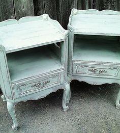 wonderful end tables or nightstands....