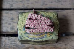 Vintage french passementerie trim_Decorative Embellishment Trim by RubanRuban on Etsy