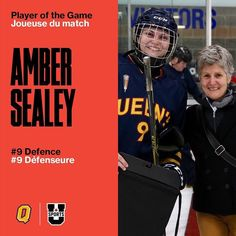 Congrats to the Gaels on a big 2-0 win they will play for 5th Sunday at 11am. Amber Sealey is the Gaels player of the game #usportswhky17
