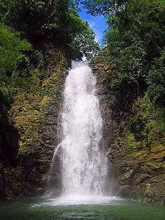 Waterfall I visited in Montezuma, Costa Rica - 2002