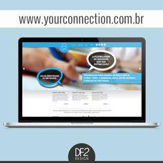 Site wwww.yourconnection.com.br desenvolvido pela DF2