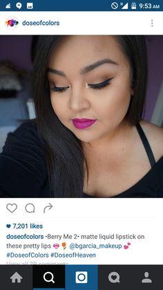 #lip #swatch #doseofcolors #berry