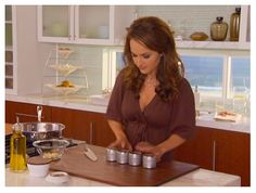 I LOVE the kitchen from Giada at Home - looking for better photos
