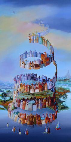 Tower of Babel http://proyectomatematicasyarte.blogspot.com.es/